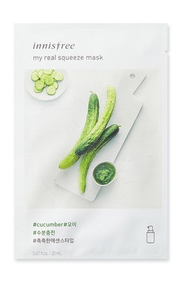 Innisfree it s real squeeze mask cucumber