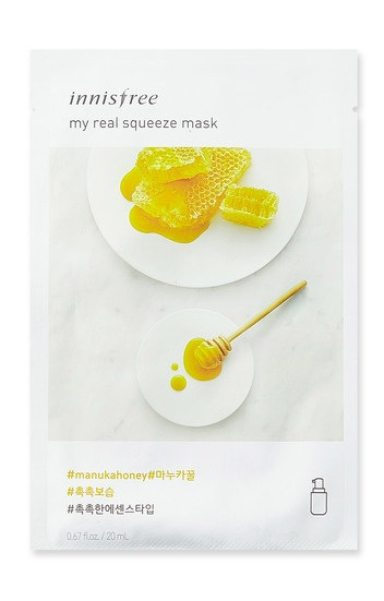 Innisfree it s real squeeze mask honey