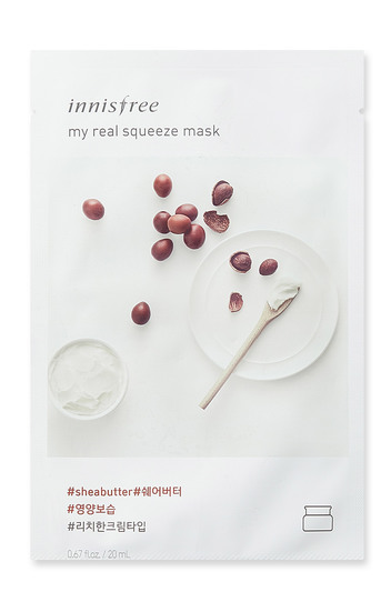 Innisfree it s real squeeze mask shea