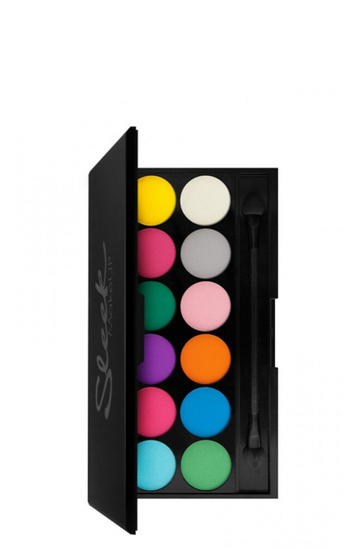 Палетка теней для глаз Sleek Make Up 'V1 Brights' / 2000000094335